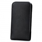 A19B Protective PU Waist Case for Iphone 5 - Black