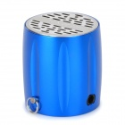 ST-605 Rechargeable 2W Sport Speaker w/ TF Card Slot / FM Radio - Blue + Silver