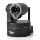 NEO Coolcam 300KP Wi-Fi/WLAN Network Surveillance Camera w / 12-LED IR Night Vision / IR Cut - Schwarz