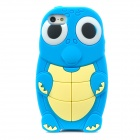 Cute Cartoon Turtle Style Protective Silicone Case for Iphone 5 - Blue + Yellow