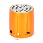 ST-605 Rechargeable 2W Sport Speaker w/ TF Card Slot / FM Radio - Golden + Silver