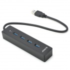ORICO W8PH4-U3-BK High Speed Mini Portable 4-Port USB 3.0 Hub - Black