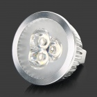 CL20121229-10 GX 5.3 3W 270lm 3500K 3-LED Warm White Light Bulb (12V)