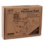 Solar DIY 3D Fortune Cat Style Wooden Jigsaw Puzzles - Oyster White