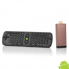 GV07T Android 4.1 Dual Core Google TV Player w/ Mini Keyboard / 4-Port USB Hub - Coffee + Black