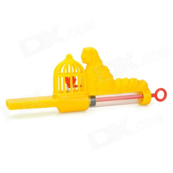GuangHua Cat & Canary Flute - Yellow + Red
