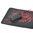 Scorpion G. Reaven USB Wired 500 / 1000 / 1500 / 2000dip Optical Game Mouse - Black