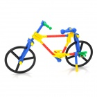 Educational DIY Assembly Plastic Bicycle Bike Model