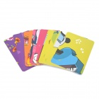 KooKoo Paper Card Animal Figures Education Puzzle Toy - Multicolored