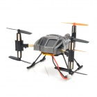 SH-6047B Rechargeable Six Axis 4-CH 2.4GHz Radio Control R/C Scorpion Aircraft - Black Gray