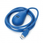 USB 3.0 5Gbps A Male to Desktop A Female Extension Cable - Blue (1.5m)