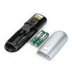LC 3000 2,4 Hz USB Wireless Presenter w / Red Laser Pointer - Plata + Negro (2 x AAA)