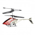 Portable Rechargeable 1100mAh 2-CH IR R/C Helicopter w/ Remote Controller - Red