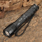 UltraFire XL-12 700lm 5-Mode White Zooming Flashlight w/ Cree XM-L T6 - Black (1/2 x 18650 or 26650)