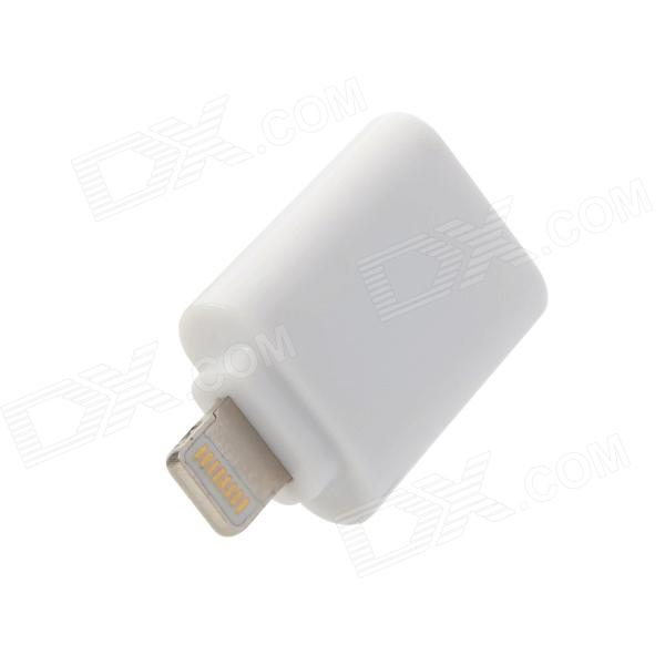 Apple 8-Pin Lightning Male to Micro USB Female Adapter for iPhone 5 - White