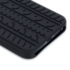 Protective Silicone Back Case for Iphone 5 - Black