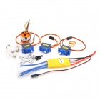 9G Servo Steering Gear A2212-1OT 1400KV Motor Kit for RC Helicopter