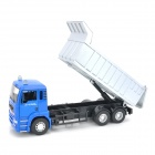 YiBao 9535-3 1:32 Scale Zinc Alloy + ABS Carrier Vehicle Car Model Toy - Blue + Silver + Black