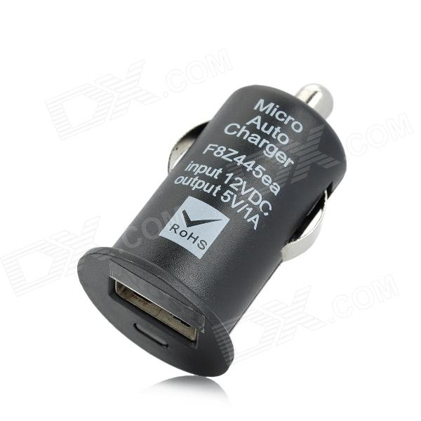 LSON USB Car Cigarette Lighter Power Adapter Charger - Black (DC 12~24V)
