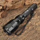 UltraFire Y3 Cree XR-E Q5 240lm 3-Mode White Flashlight - Black (1 x 18650)