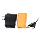Receptor recargable Bluetooth Wireless Music w / Jack de 3.5mm para IPHONE IPAD + + IPOD - Luz naranja