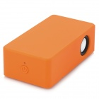 Wireless Cellphone Amplifying Speaker for iPhone 3 / 4 / 4S / 5 - Orange