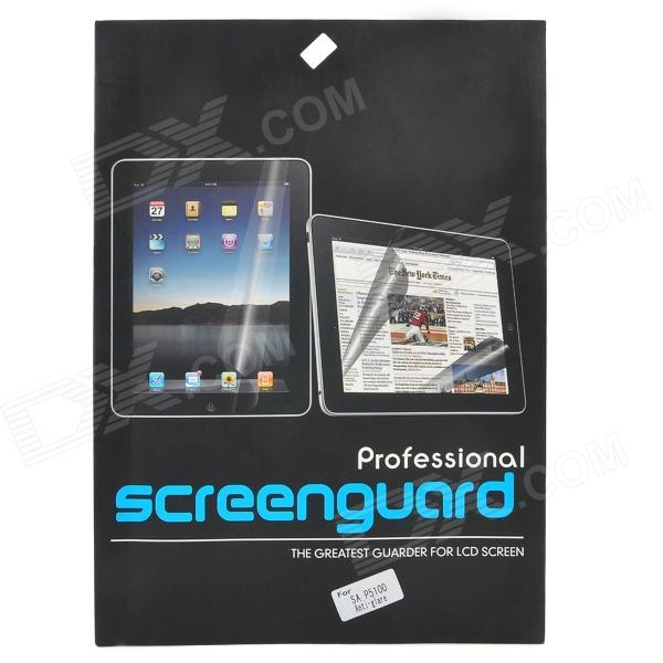 Protective Frosted Matte Screen Guarder for Samsung Tablet P5100 / P5110 - Transparent