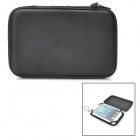 Protective PU Leather Case Bag with Speaker for 7 Inch Tablet PC - Black