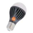 E5-Lighting E27 8W 640lm 3000K Warm White 21-A19 LED Light Bulb - Deep Grey + White (110V)