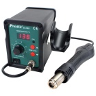 Pro'sKit SS-969H Adjustable SMD Rework Station w/ Heat Gun - Green + Black (220V / 3-Flat-Pin Plug)