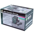 Pro'sKit SS-969 Adjustable SMD Rework Station w/ Heat Gun - Green + Black (220V / 3-Flat-Pin Plug)
