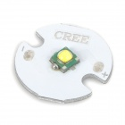 CREE XP-G 5W 310lm White Light Bulb Aluminum Plate for Flashlight - Silver + White