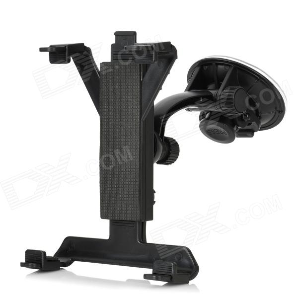 Car Windshield Swivel Mount w/ Suction Cup Set for Samsung Galaxy Note 10.1 N8000 + More - Black 360 degree rotational car mount holder w suction cup for samsung galaxy note 3 n9000 n9002