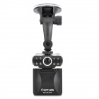 "CUBOT M300 2.5"" LTPS HD 5.0 MP CMOS 120' Wide Angle Car DVR w/ SD Slot / 8-LED Night Vision - Black"