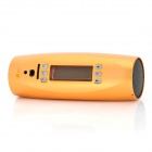 "ST-003 Mini 1.5"" LCD Rechargeable Speaker w/ FM Radio / TF / USB - Golden"