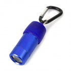 Car Powered LED 40lm White Flashlight w/ Quick Release Buckle - Blue