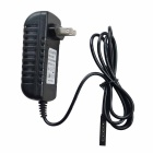 12V 2000mA Power Adapter for Microsoft Tablets - Black (110~240V)