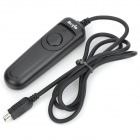 Meyin RS-802/DC2 Wired Remote Shutter Release for Nikon D600 / D90 + More - Black (90cm Cable)