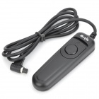MEIYIN RS-802/N3 Wired Remote Shutter Release for Canon EOS 7D + More - Black (90cm-Cable)