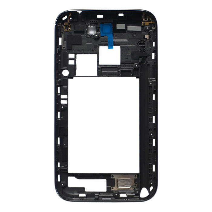 Replacement Middle Plate Frame Bezel Cover for Samsung Galaxy Note II N7100 - Grey Black чехол для samsung galaxy note ii n7100 yoobao executive leather розовый