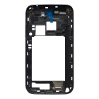 Replacement Middle Plate Frame Bezel Cover for Samsung Galaxy Note II N7100 - Grey Black
