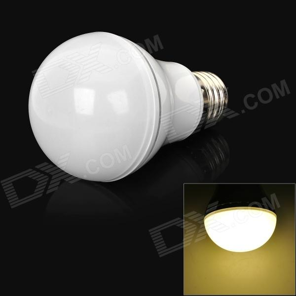 E27 7W 600lm 7000K 7-LED White Light Bulb - White (AC 85~265C)