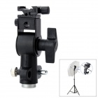 FLH-C 3/8' Hot Shoe Mount Speedlite / Flash Lamp Socket / Bracket / Holder - Black