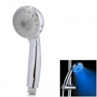 ShenDing LD8008-A21 Seven Color Light Changing 5-LED Handheld Shower Head - Silver