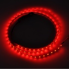 12.6W 630lm 90-SMD 1210 LED Red Light Decoration / Reading / Brake Lamp Strip - Yellow