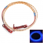 D13010405X 12.6W 630lm 90-SMD 1210 LED Blue Light Car Decoration Lamp Strip - Yellow (12V / 90cm)