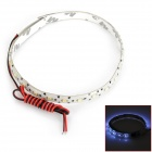 D13010801X 3.3W 176lm 22-SMD 1210 LED White Light Car Flexible Lamp Strip - White (12V / 30cm)