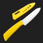 "TIMHOME KITCHENWARE U 6"" Chic Chefs Ceramic Knife - Yellow"
