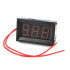 "V27A 0.56"" LED Two Line 3-Digital Alternating Current Voltmeter - Black (AC 75~300V)"