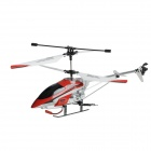 Rechargeable 1100mAh 40MHz 3.5-CH R/C Helicopter w/ Antenna + 2-Flat-Pin Plug - Red + White